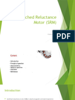 Switched Reluctance Motor (SRM) ppt