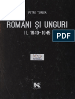 Turlea Petre Romani Si Unguri Vol II 1940 1945