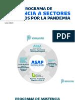 Programa de Asistencia a Sectores Afectados por la Pandemia (ASAP)