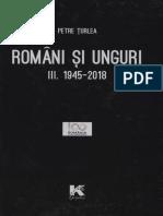 Turlea Petre Romani Si Unguri Vol III 1945 2018