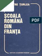 Turlea Petre Scoala Romana Din Franta 1994