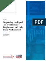 CTUP SuspendingPayrollTax Study