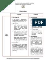 ACTO JURÍDICO_CONCEPTO Y ELEMENTOS_ACTIVIDAD 02