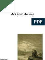 10 Ars nova italiana e inglese