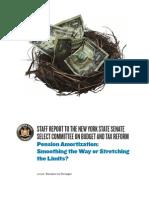 Pension Amortization Report