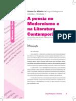atividades com texto pos modernismo