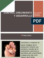 CONTROL CRECIMIENTO Y DESARROLLO