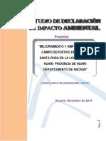 Estudio de Impacto Ambiental CD Huari-f