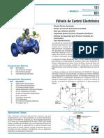 valvula control electronico