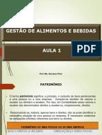 AULA 1 - Gestão de A e B