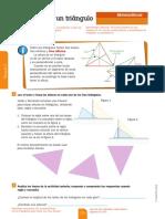 altura de triángulos
