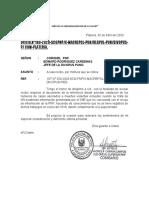 acusa recibo registro de INEI