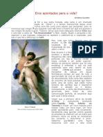Arcano VI - Nós e Eros apontados para a vida