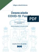 BOE-366 Desescalada COVID-19 Fase 1