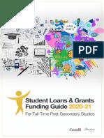 Alberta Student Aid - fundingguide2020-21