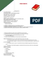 Proiect CLR Pregatitoare
