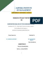 Stock market RPR REPORT