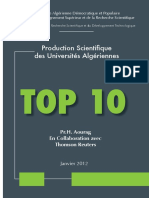 204158401 TOP 10 Univ Algeriennes