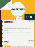 Myopathies