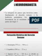 Formación Histórica del Derecho Romano (1)