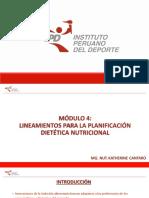 Módulo 4- Lineamientos para la Planificación Dietética Nutricional PPT.pdf