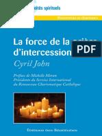 priére d'intercession