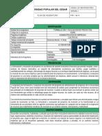 AE805 Formulación y Evaluación de Proyectos Con Ra