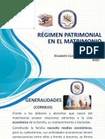 PPT. RÉGIMEN PATRIMONIAL USAN