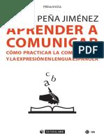 Aprender a comunicar. Cómo practicar la compresión y la expresión en lengua española.pdf