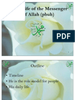 Daily Life of the Prophet