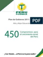 Plan de Gobierno Peru Posible 2011-2016
