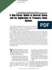Faj-One Factor Model