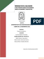 Anteproyecto de Lab Oratorio de Ingenieria Civil Para La Ues-fmo