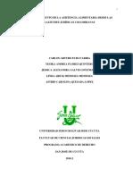 Echavarría, Flórez, Galvis, Mendoza & Quesada (2018-2) Trabajo investigación