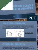 Armónicos y cargas generadoras de armónicos