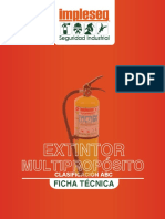 Ficha tecnica extintor multiproposito