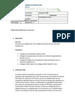 Informe Firewall NAT