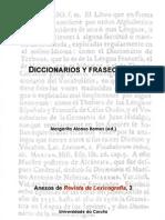 Alonso Ramos - Diccionarios y Fraseologia