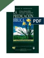 Para leer - La Predicación Bíblica.rtf