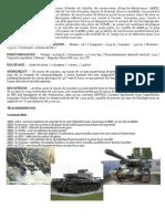 AMX 30 Fiche Technique