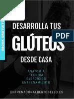 GUÍA PARA DESARROLLAR TUS GLUTEOS DESDE CASA