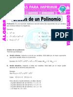 Grados-de-un-Polinomio-para-Quinto-de-Primaria