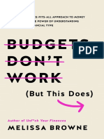 Budgets Don't Work but This Does Chapter Sampler