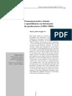 Comemorações, rituais e quotidianos na formação de professores (1959-1989) — M J Mogarro