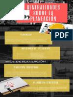 Infografia generalidades de la planeación