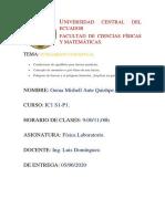 Condiciones de equilibrio para fuerzas paralelas. T4