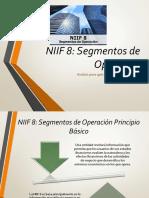 NIIF 8 Segmentos de operación