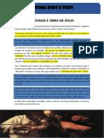 A pessoa e obra de Jesus