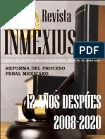 REVISTA INMEXIUS, Año IV, No. 42, JUNIO 2020