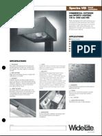 Wide-Lite Spectra VIII Commercial Outdoor Bulletin 1991